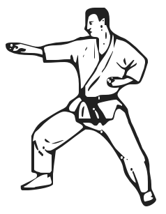 Karate clip art free download clipart images 4