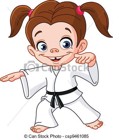 . ClipartLook.com Karate girl
