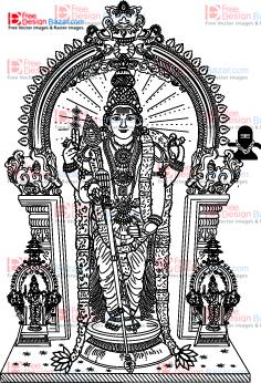 Tiruchendur Murugar Clip art u2013 Free download