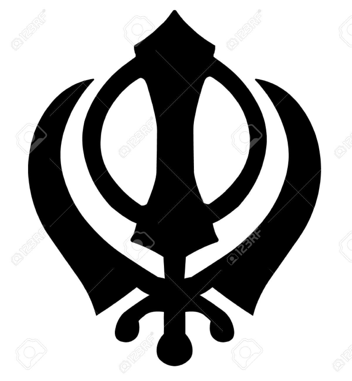 Khanda Sikh Symbol Stock Vector - 50149391