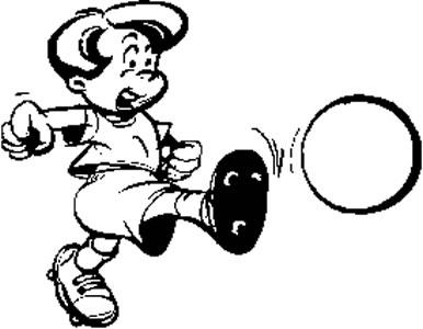 Kickball Clip Art