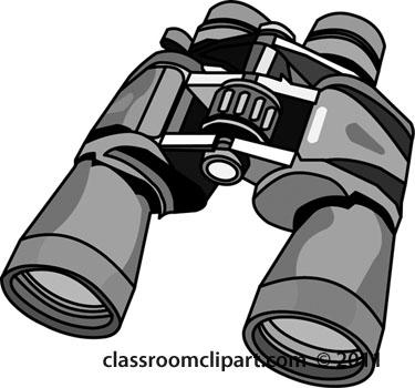 Kid Binocular Clipart .