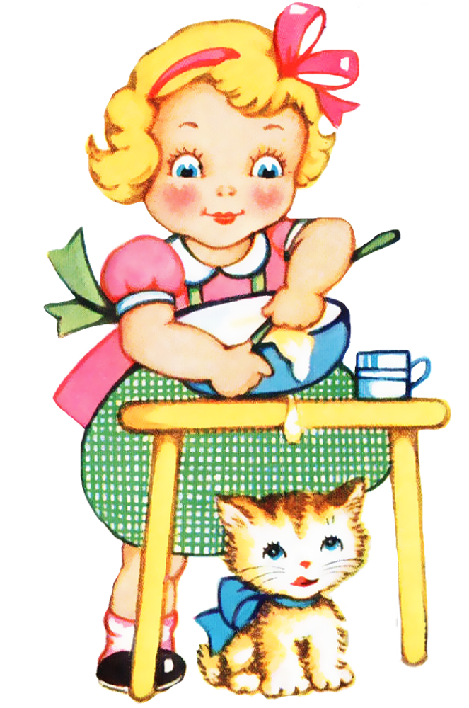 Kid Cooking Clipart Images .