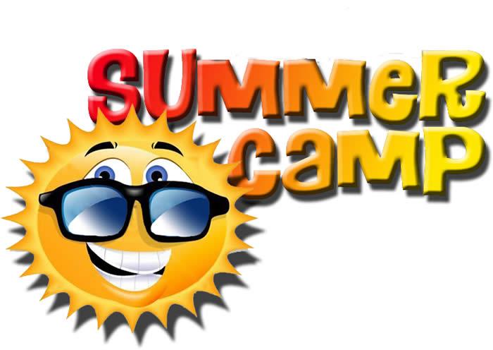 kids summer camp clipart
