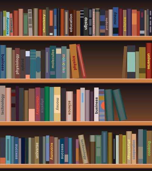 kids-bookshelf Tongue Clipart