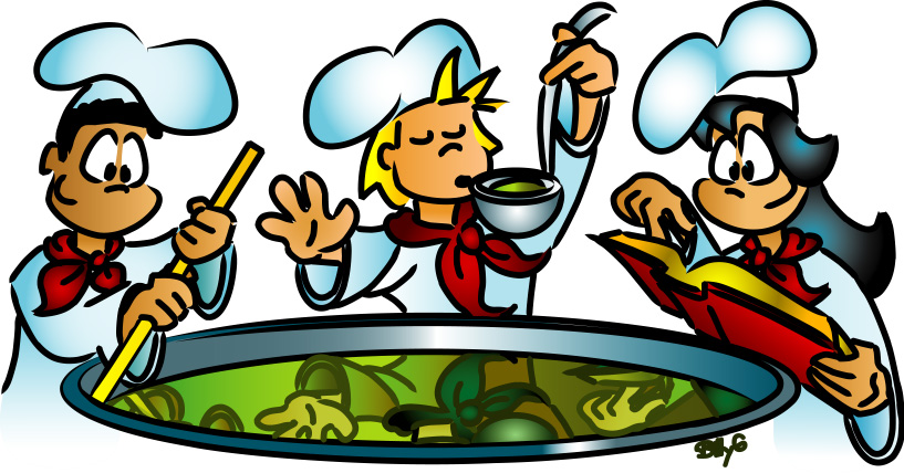 Kids Cooking Clipart Clipart Panda Free Clipart Images