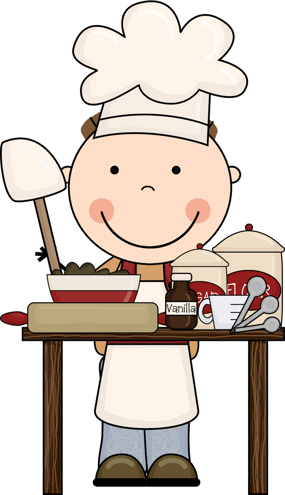 Kids Cooking Clipart Free .
