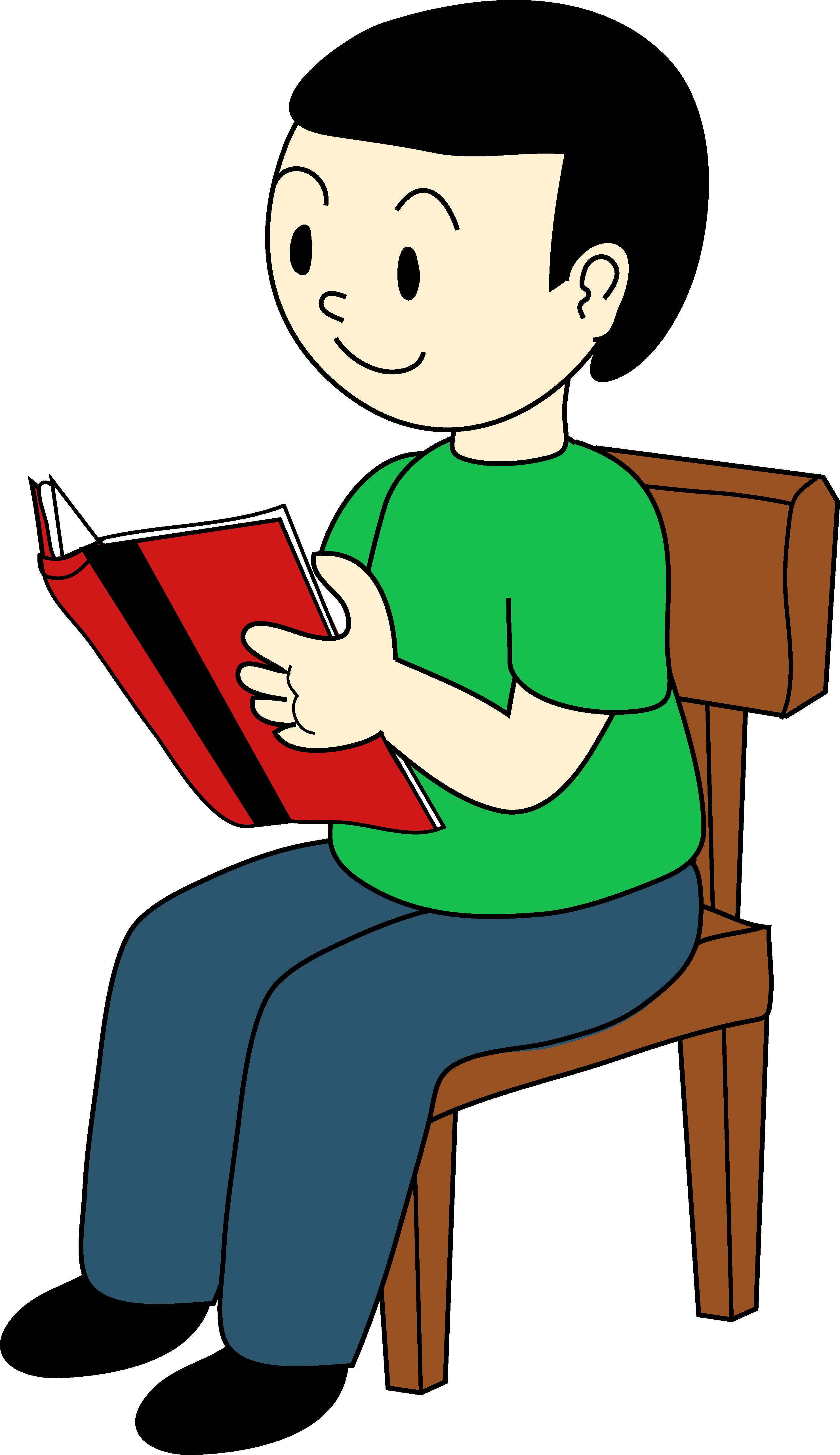 Kids Reading Clipart | Clipart library - Free Clipart Images