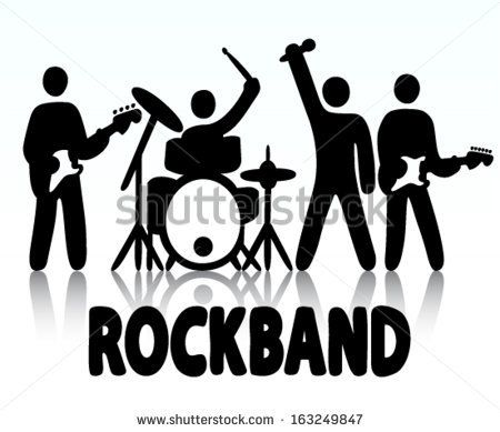 kids rock band clipart - Google Search