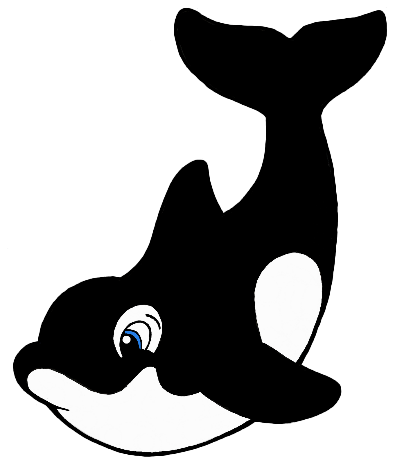 Orca Whale Clipart   Clipart Panda - Free Clipart Images throughout Whale  Clipart