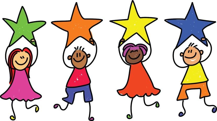 Kindergarten star student clipart