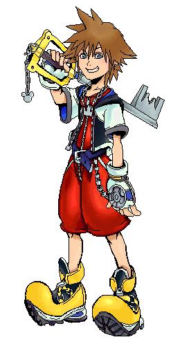 Sora - Kingdom Hearts by ConkerTSquirrel ClipartLook.com