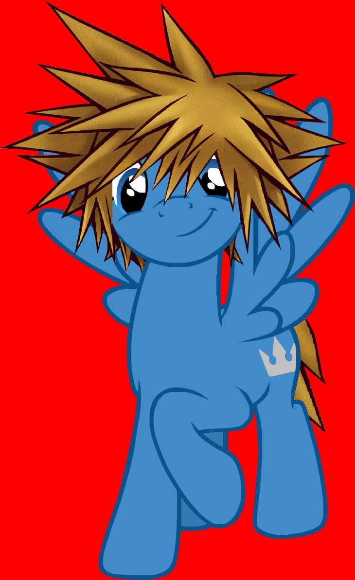 Sora Kingdom Hearts Pony by YukiMemories Sora Kingdom Hearts Pony by  YukiMemories