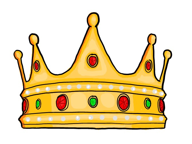 Kings Crown Template Clipart
