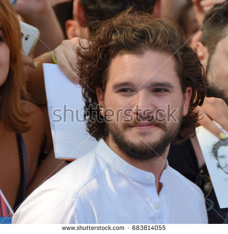 Giffoni Valle Piana, Sa, Italy - July 19, 2017 : Kit Harington at