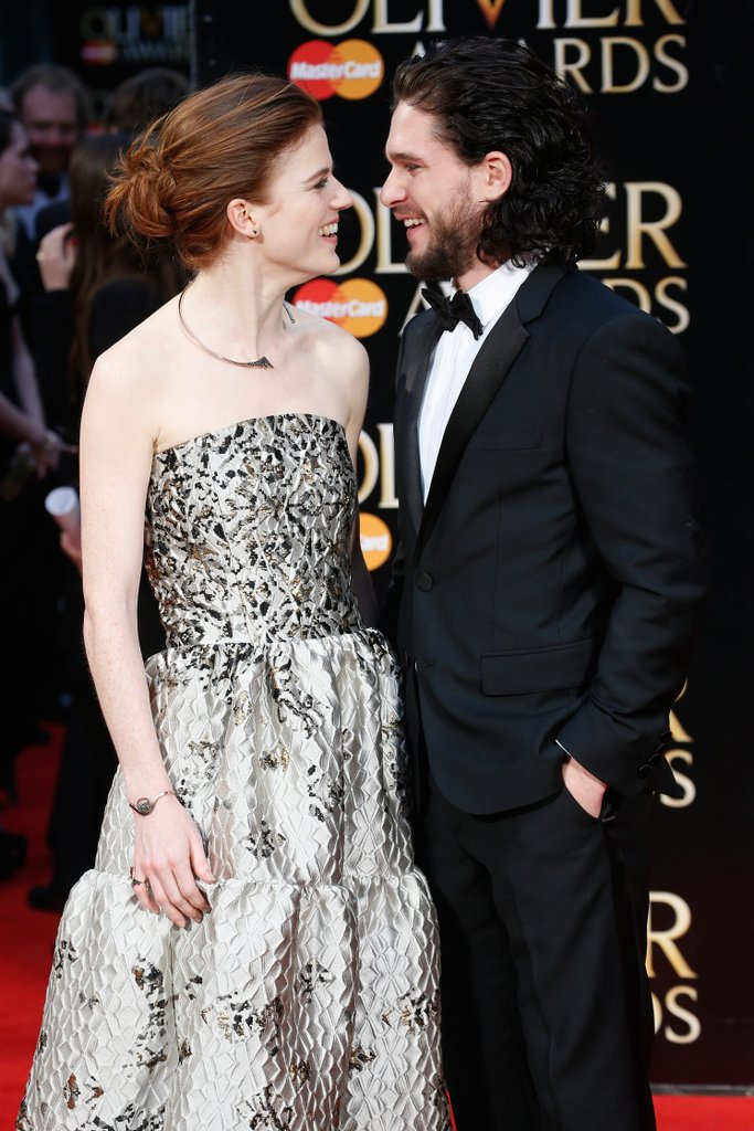 Kit Harington and Rose Leslie Relationship Details | POPSUGAR .