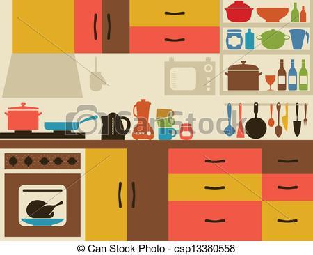 Kitchen - csp13380558
