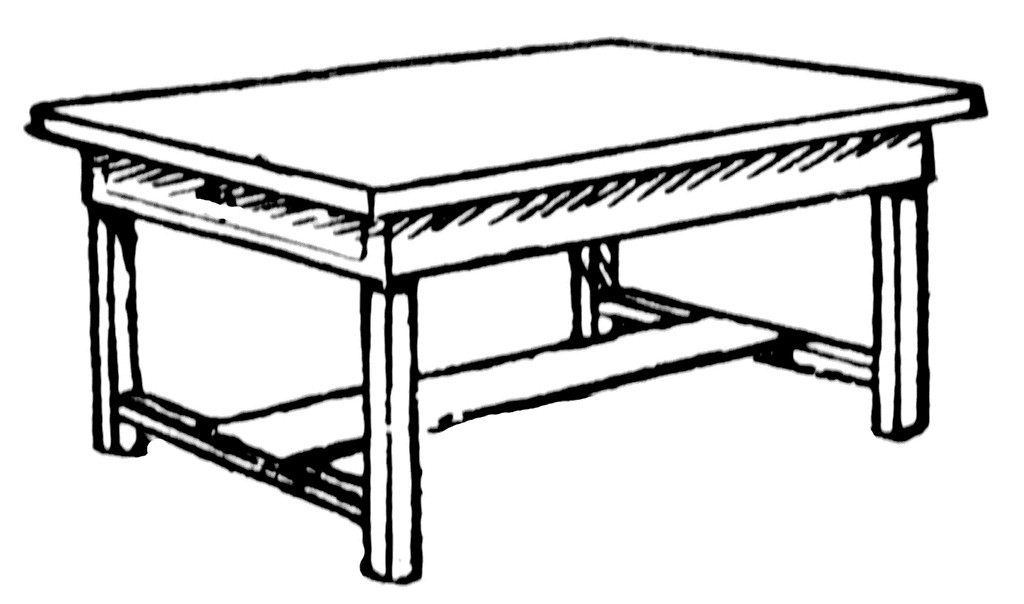 Kitchen Table Clip Art ..