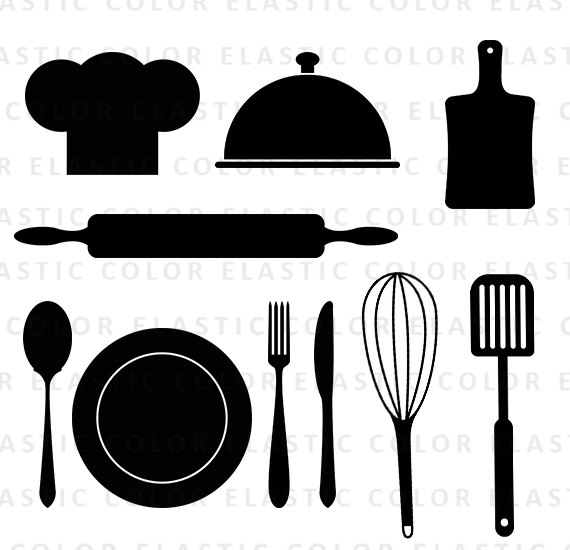 Kitchen Tools Clipart-hdclipa - Kitchen Tools Clipart