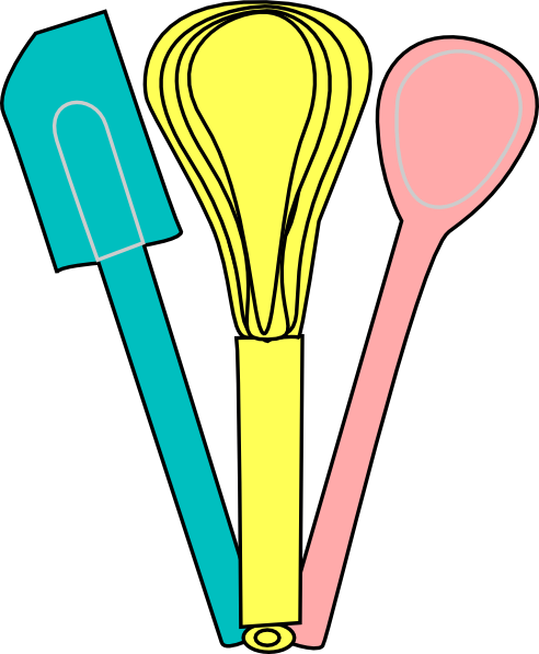 cooking utensils clipart