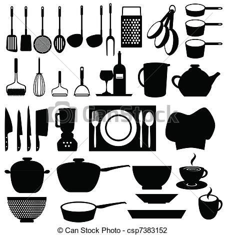 Kitchen Utensils And Tools - Csp7383152
