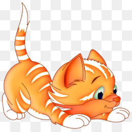 Cute Ginger Cat Vector Cartoon Clipart Stock Illustration - Download Image  Now - iStock