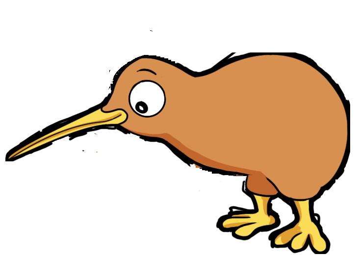 Bird Clipart   Free Kiwi Bird Clip Art