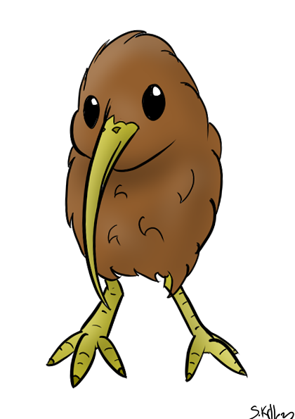 kiwi bird clipart - Google Search