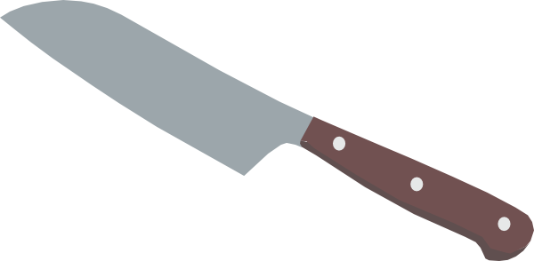 Knife Clipart this image as: