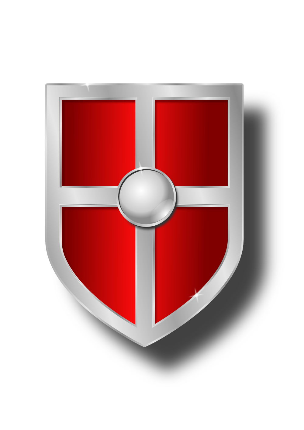 knight shield clipart
