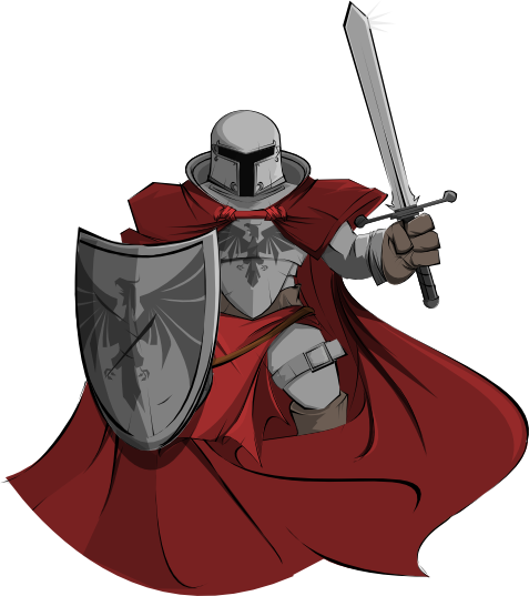 Knight free to use cliparts