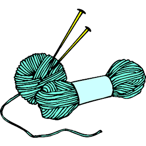 Knitting Needles Yarn 2 Clipart Cliparts Of Knitting Needles Yarn