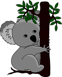 Koala Clip Art Images Koala Stock Photos Clipart Koala Pictures
