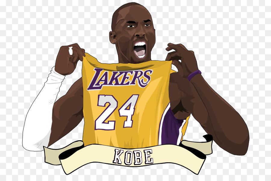 Kobe Bryant Los Angeles Lakers Basketball Clip art - Cliparts Kobe Bryant
