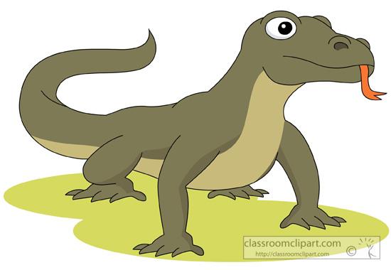 Komodo Dragon Clipart-Clipartlook.com-550