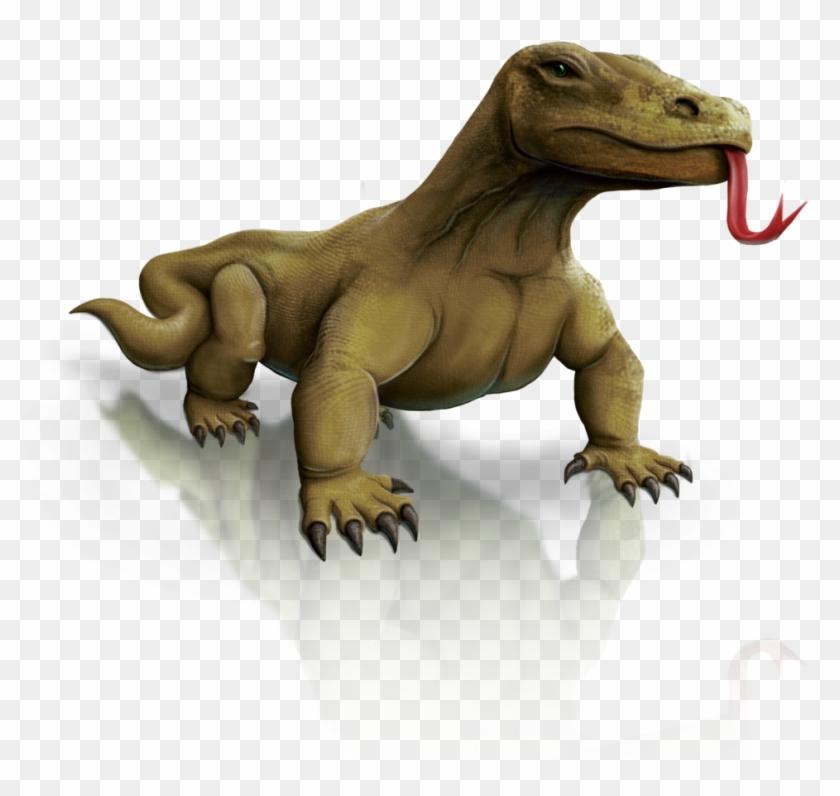 Komodo Dragon Clipart Tribal - Komodo Icon Png #1038788