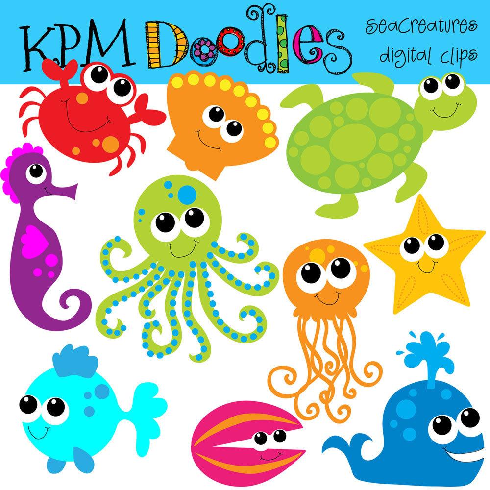 Kpm Bright Sea Creatures .