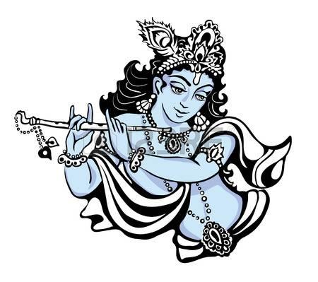 Hindu young god Lord Krishna
