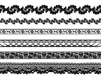 Lace Border Clip Art ..