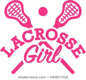 Lacrosse Girl - Lacrosse Clipart