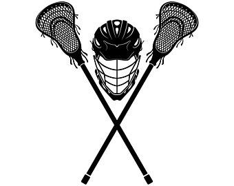 Lacrosse, Helmet, Stick, Stic - Lacrosse Clipart