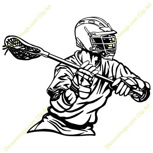 Lacrosse Player Closeup Clipart Panda Free Clipart Images