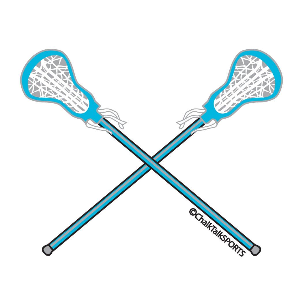 lacrosse sticks clipart .