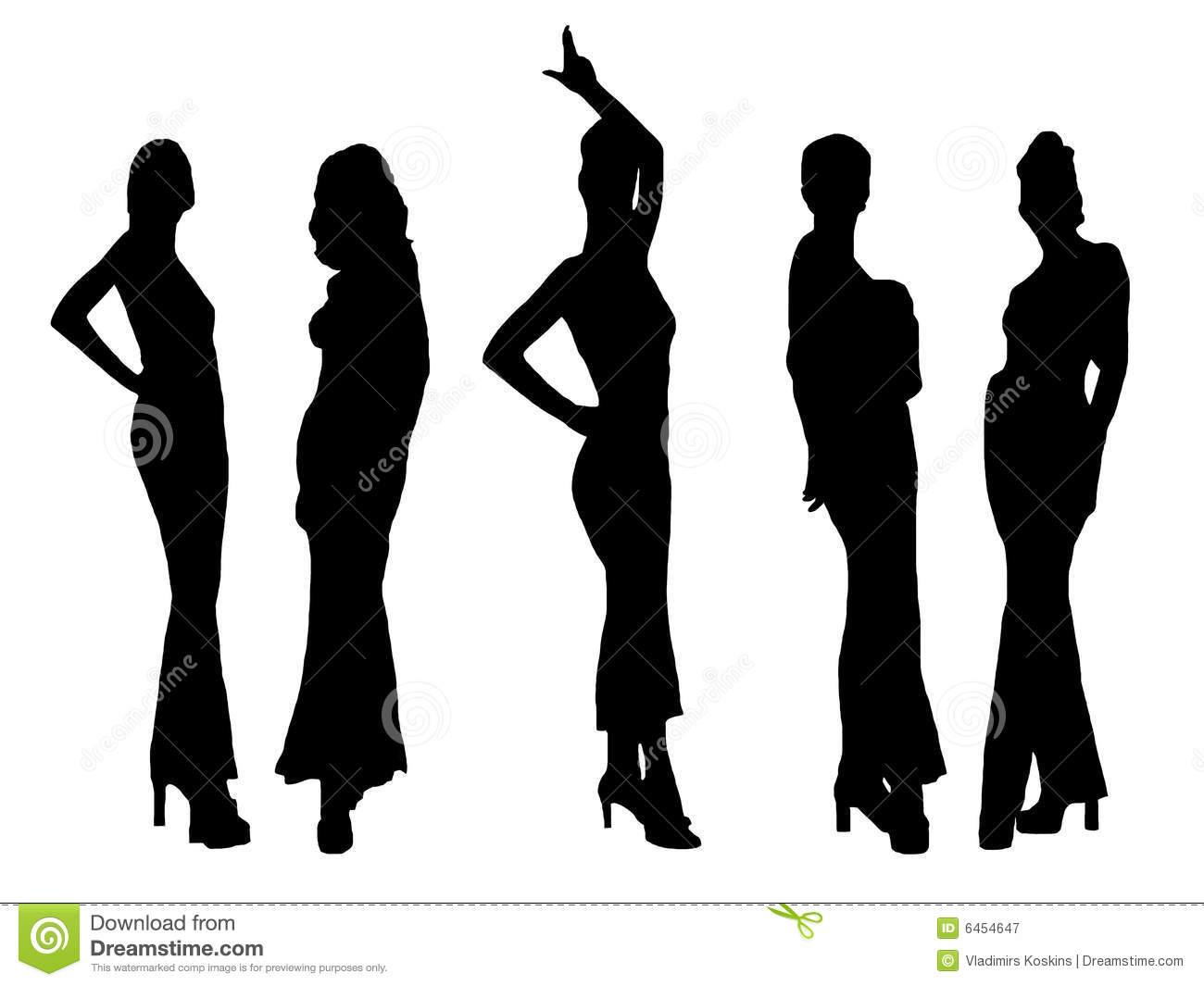 Ladies fashion clipart free . Download