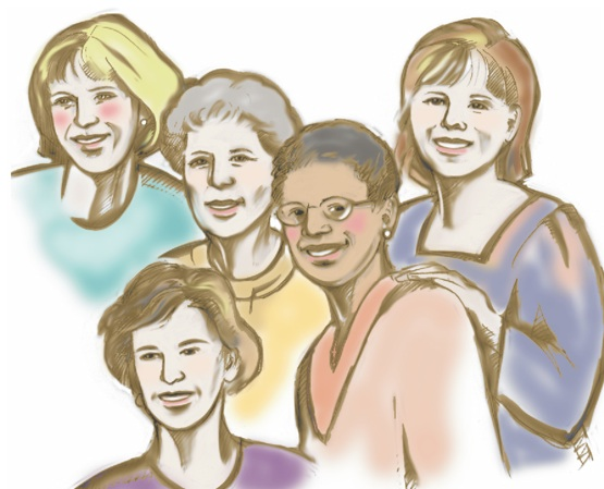 Ladies Ministry Clipart