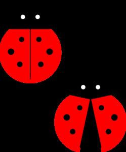 Cute Ladybug Clipart #1