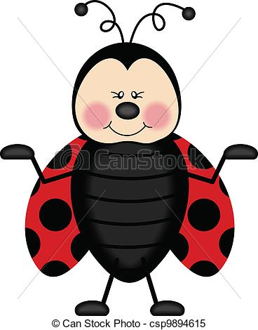 Joyful Ladybug - csp9894615