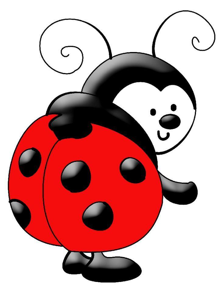 Ladybug Baby Clip Art | imagen para tarjetas | Ladybug Ladybug fly away  home | Pinterest