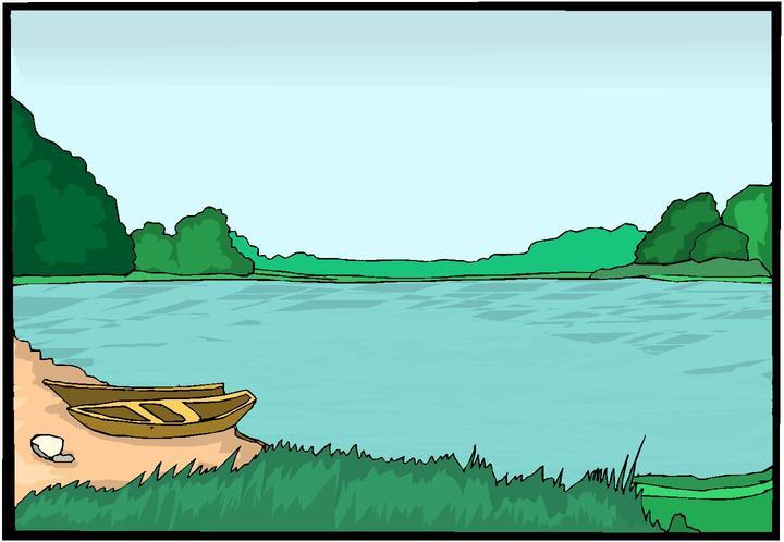 Lake Clip Art 1