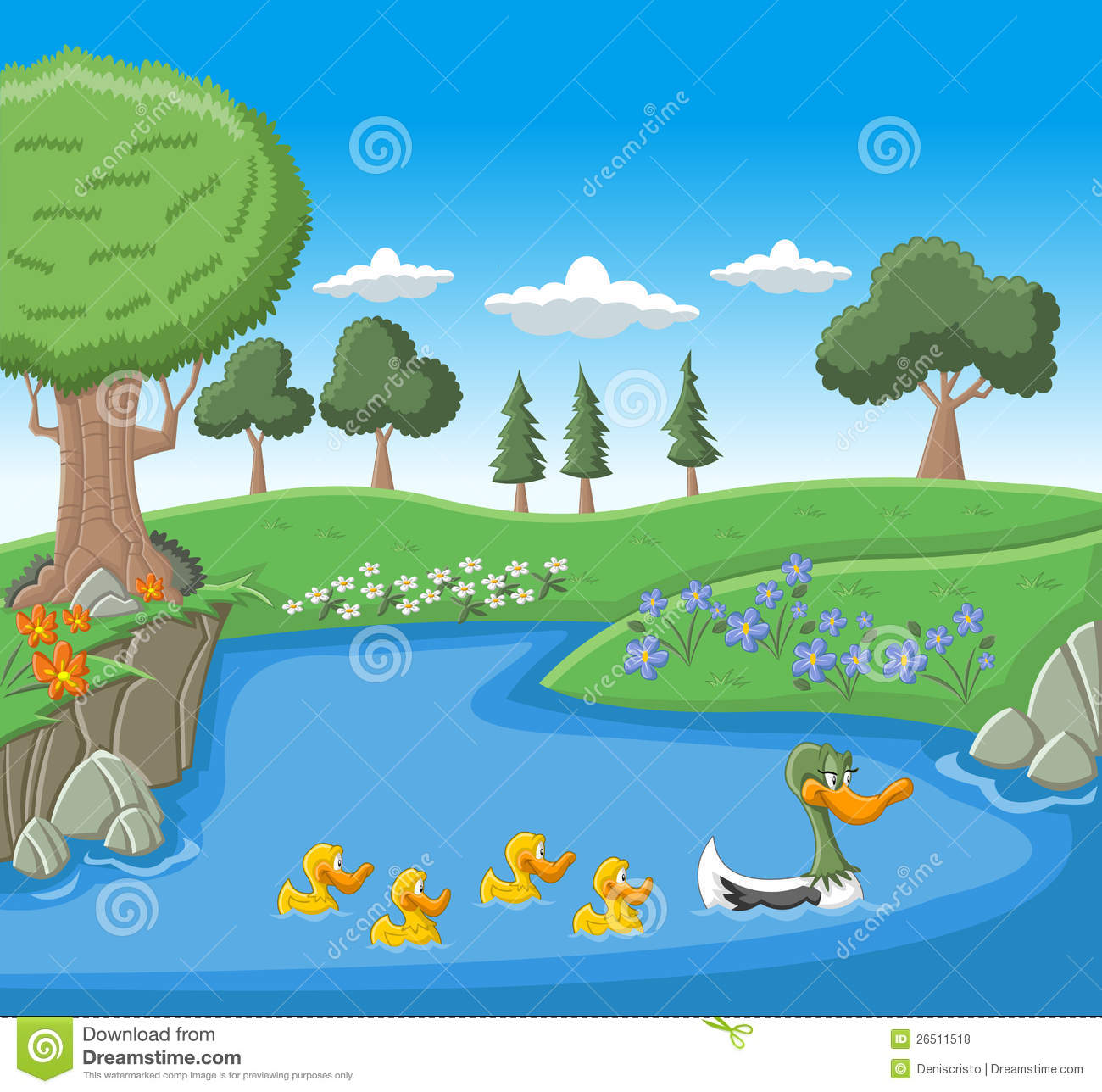 Lake clipart nature #7 - Lake Clipart